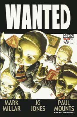 Wanted (2003-2005 Comic-book) #4