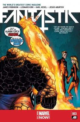 Fantastic Four Vol. 5 (Comic Book) #3
