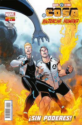 Marvel 2 en Uno: La Cosa y La Antorcha Humana #9