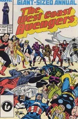 Avengers West Coast Annual (1986-1993) (Comic-Book) #2