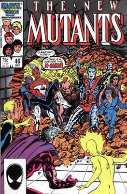 The New Mutants (Grapa) #46