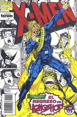 X-Men Vol. 1 (1992-1995) (Grapa 32 pp) #10