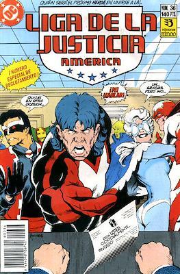 Liga de la Justicia / Liga de la Justicia internacional / Liga de la Justicia de America (1988-1992) (Grapa) #36
