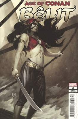 Age Of Conan: Bêlit (2019- Variant Cover) (Comic Book) #3