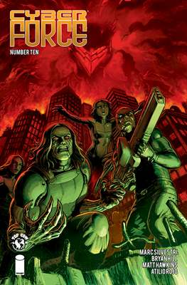 Cyberforce (2018-) (Comic book) #10