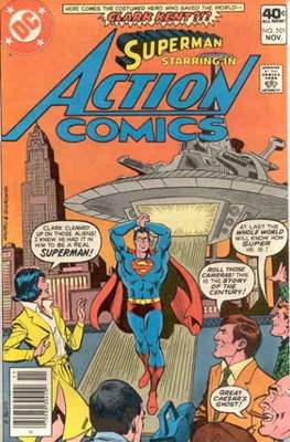 Action Comics Vol. 1 (1938-2011; 2016-) (Comic Book) #501