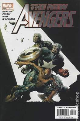 The New Avengers Vol. 1 (2005-2010) #2
