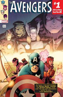 The Avengers Vol. 7 (2016-2018) (Comic-book) #1.1