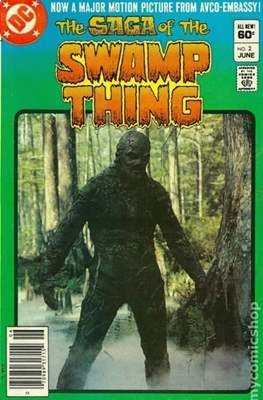 Swamp Thing (1982-1996) #2