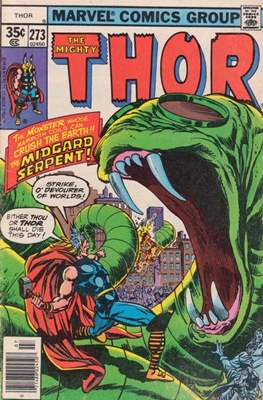 Journey into Mystery / Thor Vol 1 (Comic Book) #273