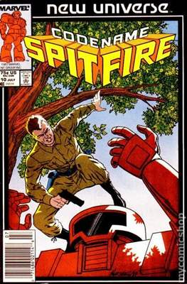 Spitfire and the Troubleshooters / Codename: Spitfire #10