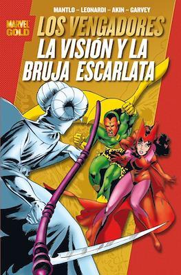 Los Vengadores. La Visión y la Bruja Escarlata. Marvel Gold