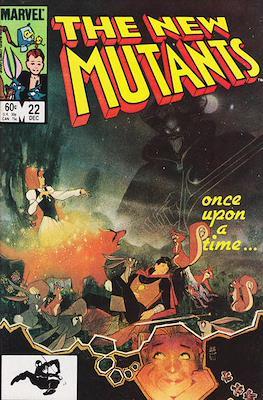 The New Mutants (Comic Book) #22
