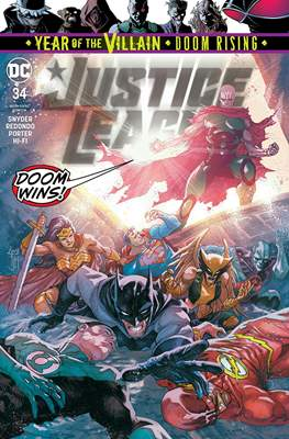 Justice League Vol. 4 (2018- ) (Comic Book) #34