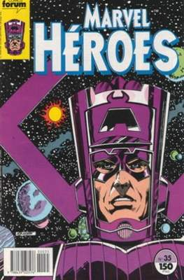 Marvel Héroes (1986-1993) (Grapa 32 pp) #35