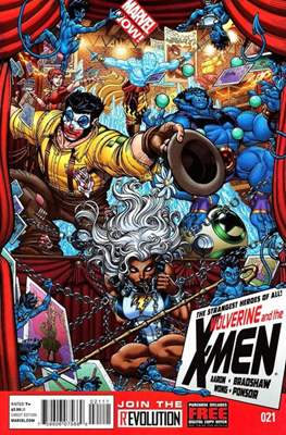 Wolverine and the X-Men Vol. 1 (Comic-Book) #21