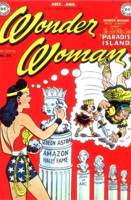 Wonder Woman Vol.1 (1942-1986; 2020-) (Comic Book) #36