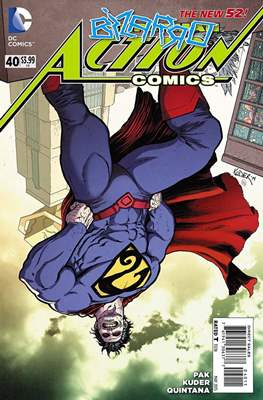 Action Comics Vol. 2 (2011-2016) (Grapa) #40