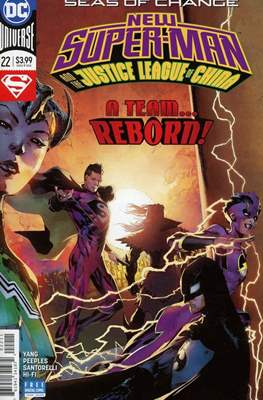 New Super-Man (Comic-Book) #22