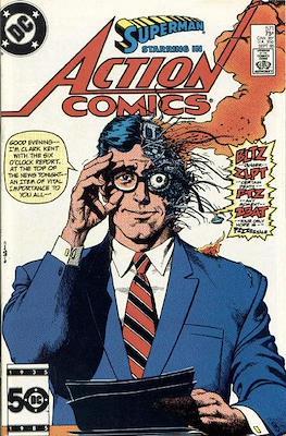 Action Comics Vol. 1 (1938-2011; 2016-) (Comic Book) #571