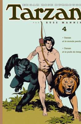 Tarzan par Russ Manning (Cartoné con sobrecubierta) #4