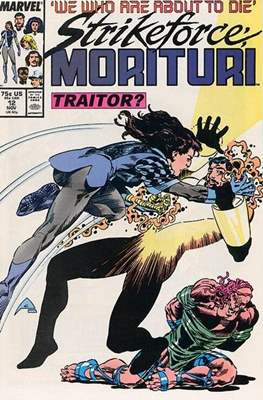Strikeforce Morituri (Comic-book.) #12