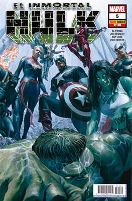 El Increíble Hulk Vol. 2 / Indestructible Hulk / El Alucinante Hulk / El Inmortal Hulk (2012-) (Comic Book) #80/5