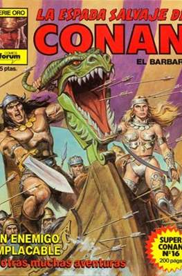 Super Conan. La Espada Salvaje de Conan (Cartoné 1ª Edición.) #16