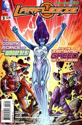 Larfleeze (2013-2014). The New 52 (Grapa) #3
