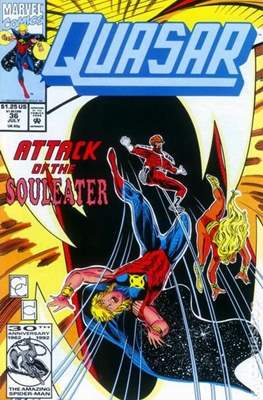 Quasar Vol. 1 (1989-1994) (Comic.Book) #36