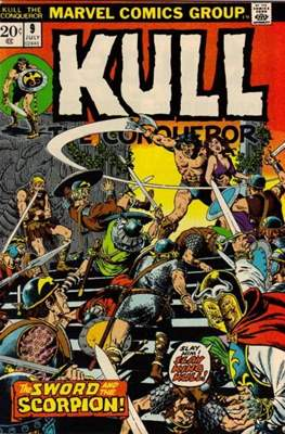 Kull the Conqueror / Kull the Destroyer (1971-1978) #9