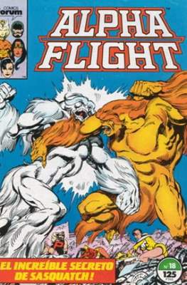 Alpha Flight vol. 1 / Marvel Two-in-one: Alpha Flight & La Masa vol.1 (1985-1992) (Grapa 32-64 pp) #18