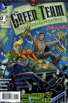 The Green Team: Teen Trillionaires (2013-2014) (Grapa) #1