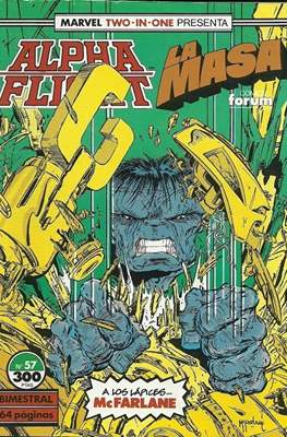 Alpha Flight vol. 1 / Marvel Two-in-one: Alpha Flight & La Masa vol.1 (1985-1992) #57