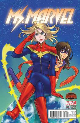 Ms. Marvel (Vol. 3 2014-2015) (Grapa) #18.1