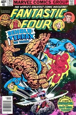 Fantastic Four Vol. 1 (1961-1996) (saddle-stitched) #211