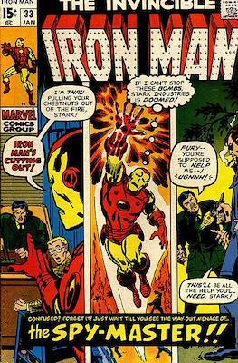 Iron Man Vol. 1 (1968-1996) (Comic book) #33