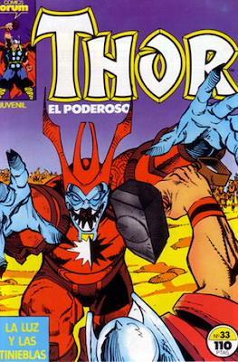 Thor, el Poderoso (1983-1987) #33