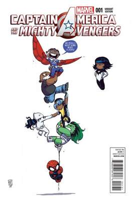 Captain America and the Mighty Avengers (Variant Covers) (Comic Book) #1
