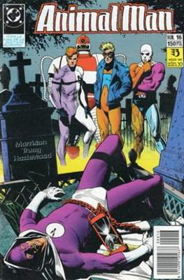 Animal Man (1989-1991) (Grapa 24 pp) #16