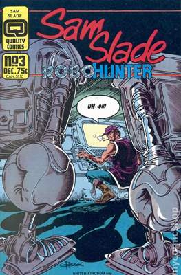 Sam Slade Robo-Hunter #3
