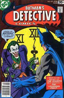 Detective Comics Vol. 1 (1937-2011; 2016-) (Comic Book) #475