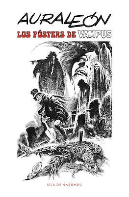 Auraleón. Los Pósters de Vampus (Portfolio) #