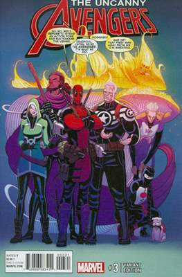 The Uncanny Avengers Vol. 3 (2015-2018 Variant Cover) #3