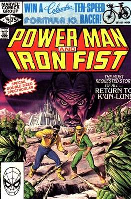 Hero for Hire / Power Man Vol 1 / Power Man and Iron Fist Vol 1 (Comic-Book) #75