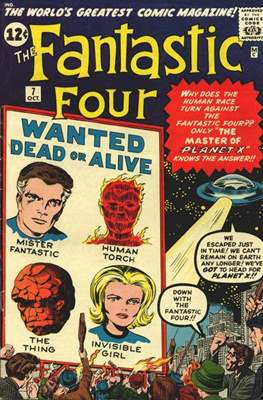 Fantastic Four Vol. 1 (1961-1996) #7