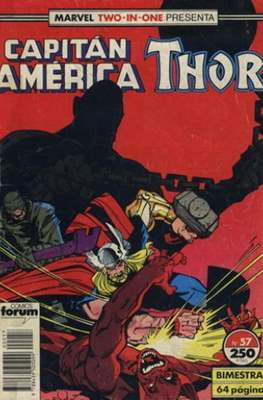 Capitán América Vol. 1 / Marvel Two-in-one: Capitán America & Thor Vol. 1 (1985-1992) (Grapa 32-64 pp) #57