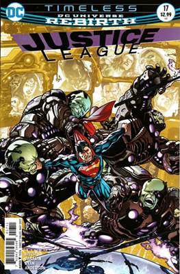 Justice League Vol. 3 (2016-2018) (Comic-book) #17