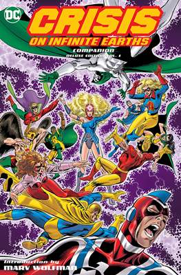 Crisis on Infinite Earths Companion Deluxe Edition #1
