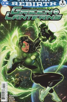 Green Lanterns (Vol. 1 2016-... Variant Covers) (Comic Book) #1